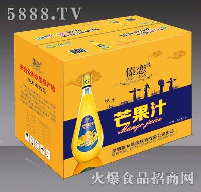 1.5L傣恋芒果汁外箱