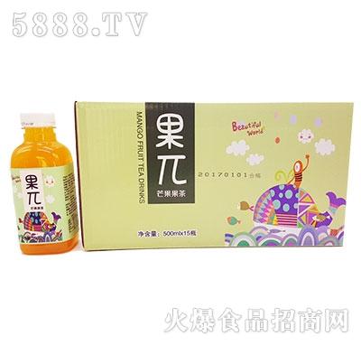 果π芒果果茶500mlx15瓶