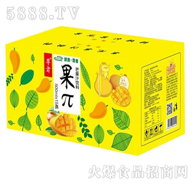 500mlx15瓶尊者果π芒果汁饮料