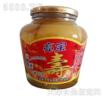亮宝黄桃寿罐头950克