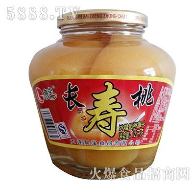 亮宝长寿桃罐头1250克