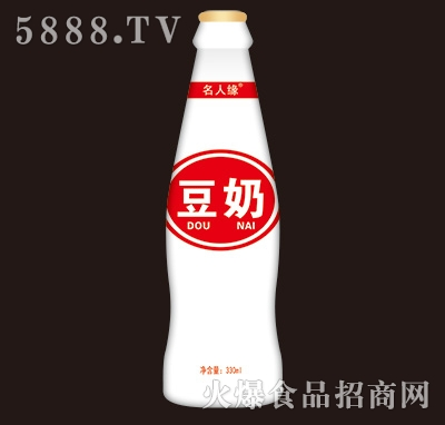 名人缘豆奶饮料330ml