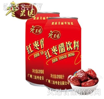 枣果园红枣醋饮料310ml