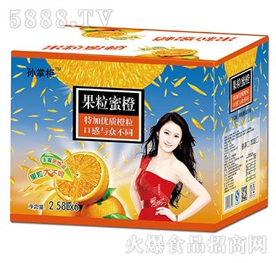 孙掌柜果粒蜜橙2.58Lx6瓶
