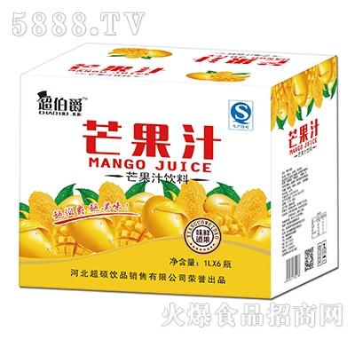 超伯爵芒果汁饮料1Lx6瓶