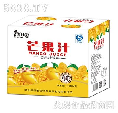 超伯爵芒果汁饮料1.5Lx6瓶