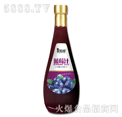 超伯爵蓝莓汁饮料1.5L