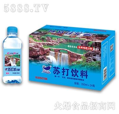 梦阳苏打水饮料350mlx24瓶