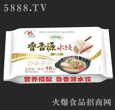 鲁香源猪肉韭菜水饺560g