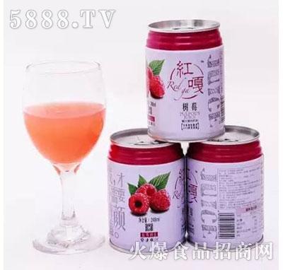 红嘎树莓饮料