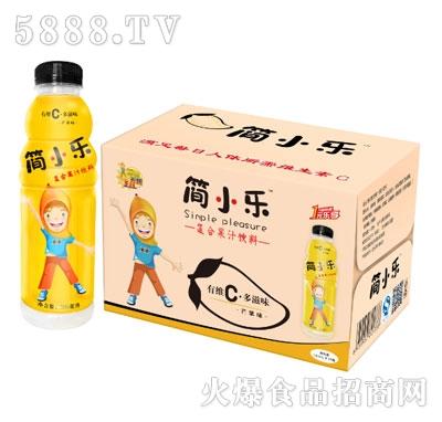 950mlx15瓶简小乐复合果汁饮料(芒果味)