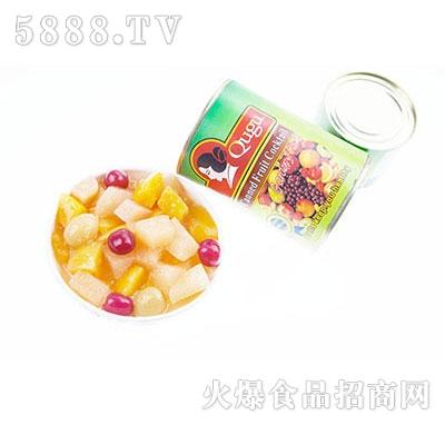 屈姑什锦水果罐头