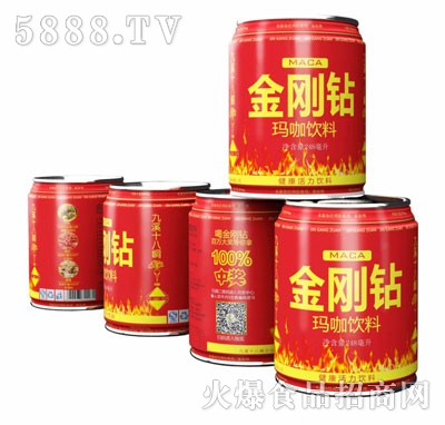 金刚钻玛咖饮料248ml