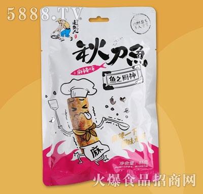 追鱼人秋刀鱼麻辣味85克