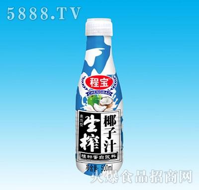 程宝泰式生榨椰子汁500ml