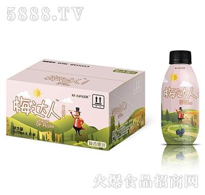 梅达人蔓越莓复合果汁420mlx15瓶