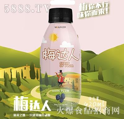 梅达人蔓越莓复合果汁420ml