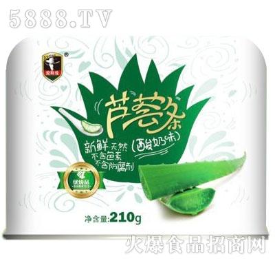 210G酸奶芦荟罐头产品图