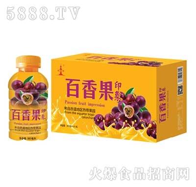 印象百香果汁380ml箱