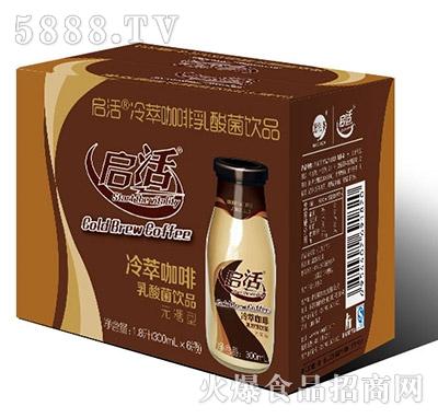 启活咖啡乳酸菌纸箱1X6瓶