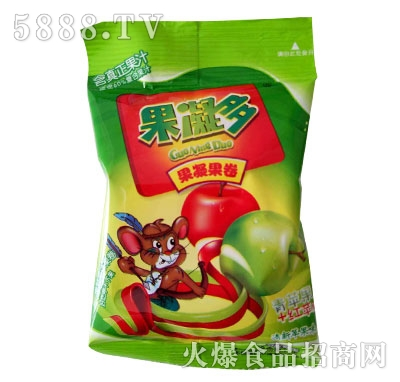 果凝多果凝果卷苹果味产品图