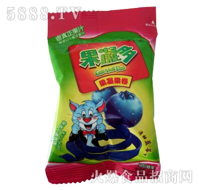 果凝多果凝果卷蓝莓味
