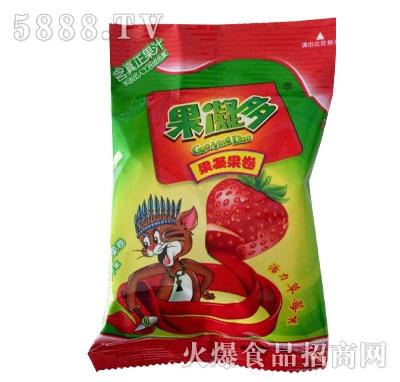 果凝多果凝果卷草莓味