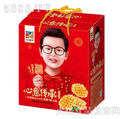 三淮坊心意传承华夫饼干