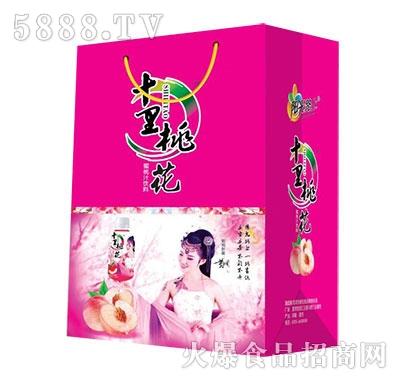 十里桃花蜜桃汁果汁饮料358ml礼盒