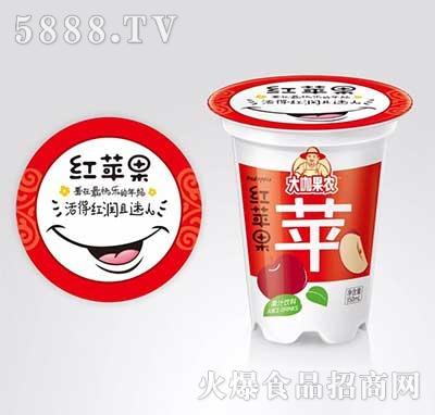 大咖果农红苹果果汁饮料