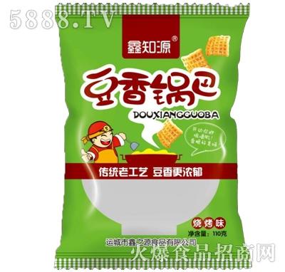 鑫知源豆香锅巴烧烤味(绿)