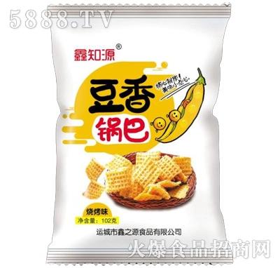鑫知源豆香锅巴烧烤味102g(白)