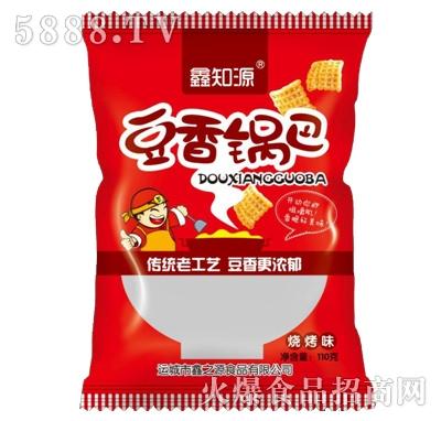 鑫知源豆香锅巴烧烤味110g(红)