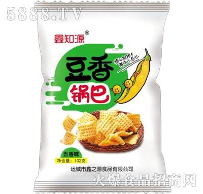 鑫知源豆香锅巴五香味102g(白)