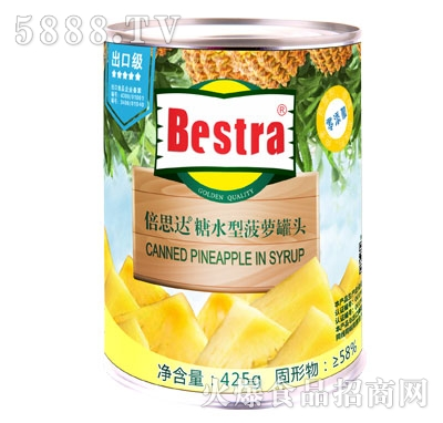 【倍思达】菠萝罐头 425g