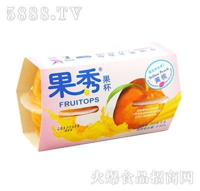 【果秀】黄桃果杯 452g(113g*4杯)