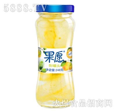 【果愿】梨罐头 248g