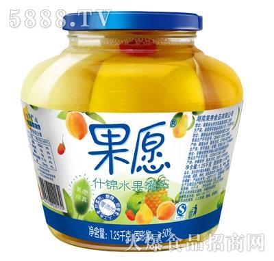 【果愿】什锦罐头 1.25kg
