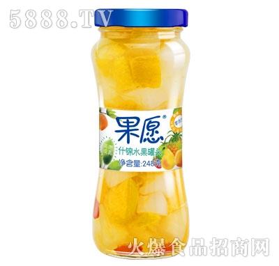 【果愿】什锦罐头 248g