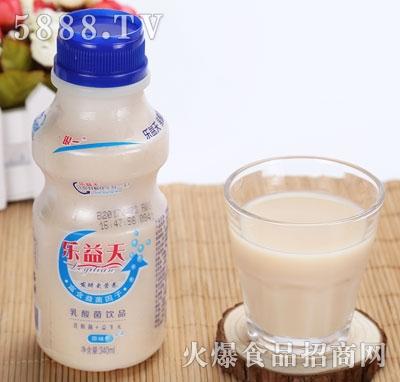 乐益天乳酸菌饮品原味340ml
