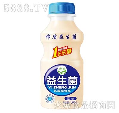 帅盾益生菌乳酸菌饮品340ml原味