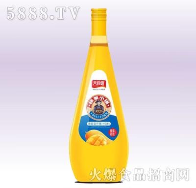 天合露硕果小镇芒果汁玻璃瓶