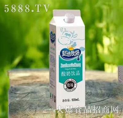 甄选牧场酸奶饮品958ml