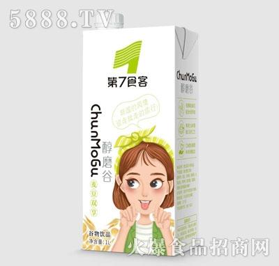 第7食客麦豆双享谷物饮品1L