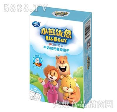 小熊优恩牛奶加钙曲奇饼干60克