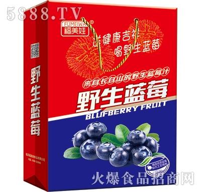 福美娃野生蓝莓礼盒装