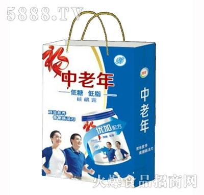 中老年低糖低脂核桃露礼盒