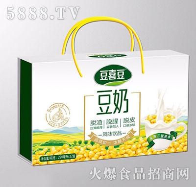 豆喜豆豆奶250mlx12盒