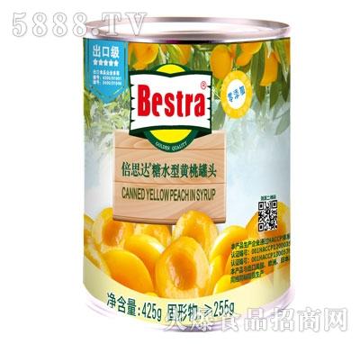 【倍思达】黄桃罐头 425g