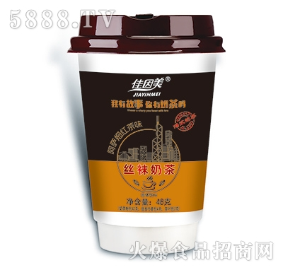 佳因美丝袜奶茶阿萨姆红茶味48g产品图